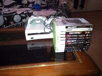 Xbox 360 60gig 2controllers 11games