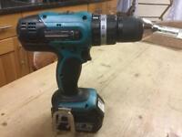 Makita DHP 453 18v LXT hammer drill/driver Lithium-Ion 3.0 Ah battery