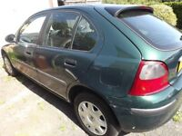 Rover 25 Hatchback 5 door Petrol Manual 1.4L