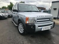 2007 Land Rover Discovery 3 2.7 TD V6 SE 5dr FSH+BEIGE LEATHER+ 7 SEATER