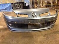 RENAULT CLIO 07 PLATE FRONT BUMPER!!