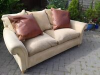 2 Seat Sofa with Cushions - DELIVERY AVAILABLE
