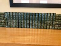 Charles Dickens. 30 leatherette bound volumes from the Complete Works of Charles Dickens.