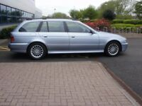 BMW E39 525d Touring (Estate), Automatic, SE model, for sale.