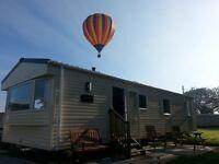 Luxury 3 bedroom caravan at Flamingo Land only £100 deposit secures your stay