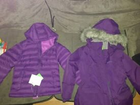 2 Brand new coats age 5-6 from Mountain Warehouse