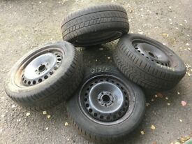 Winter rims and tyres - used from Ford Mondeo, Avon Ice Touring 215 55 R16