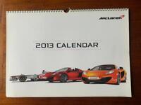 Official McLaren Supercar Calendar 2013 New - Spider, Formula 1, GLT, GT...