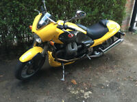 Moto Guzzi Centuro Yellow 2 previous owners low mileage