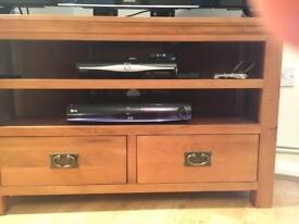 Dorchester oak TV corner cabinet
