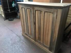 Antique Hand Built Storage Unit