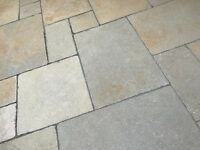 Antique Limestone Paving Slabs - Spares leftover from patio installation £50