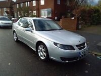 2006 Saab 9-5 Vector 2.3 Turbo automatic, petrol, long MOT, excellent condition, great runner, 95