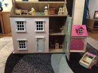Dolls house & furniture