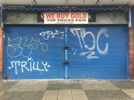 Retail Opportunity | Large Shop Front with No Premium | Roman Road Market