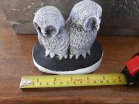 Pair of owl's ornament