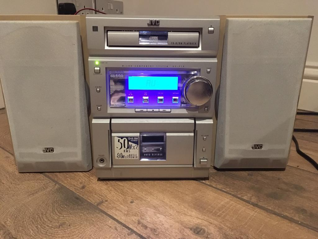 JVC Hi-Fi CD player + Aux + Tape