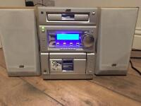 JVC Hi-Fi CD player + Aux + Tape