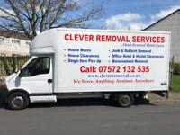 Man and Van, Full/Part House Removal, Single Item Pick ups, Free Scrap Metal collection.