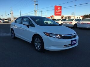 2012 Honda Civic Sedan LX at