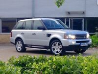 BARGAIN ON MY BEUTIFUL RANGE ROVER SPORT WITH FULL SERVICE HISTORY AND CAMBELT BEEN REPLACE