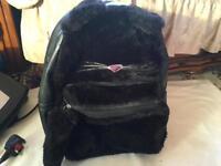 Ladies backbag black used good condition £5