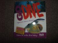 PADI open water dive manual