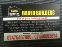 Builders skill man carpenter building work