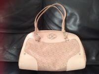 Ideal xmas present baby pink dkny handbag mint condition