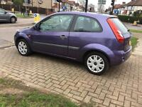 FORD FIESTA STYLE-1.2 2007,MAUVE/PURPLE,3 DOORS, MANUAL,4 NEW TYRES,SINGLE OWNER,HPI CLEAR