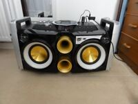 Philips FWP2000/3100D added Bluetooth MP3 Hi-Fi Music System with iPod/iPhone Dock