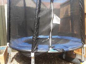Trampoline for sale 6 ft. (nevy blue)