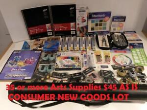 35 or more Arts Supplies / Stationary School Supplies $45 AS IS CONSUMER NEW GOODS LOT