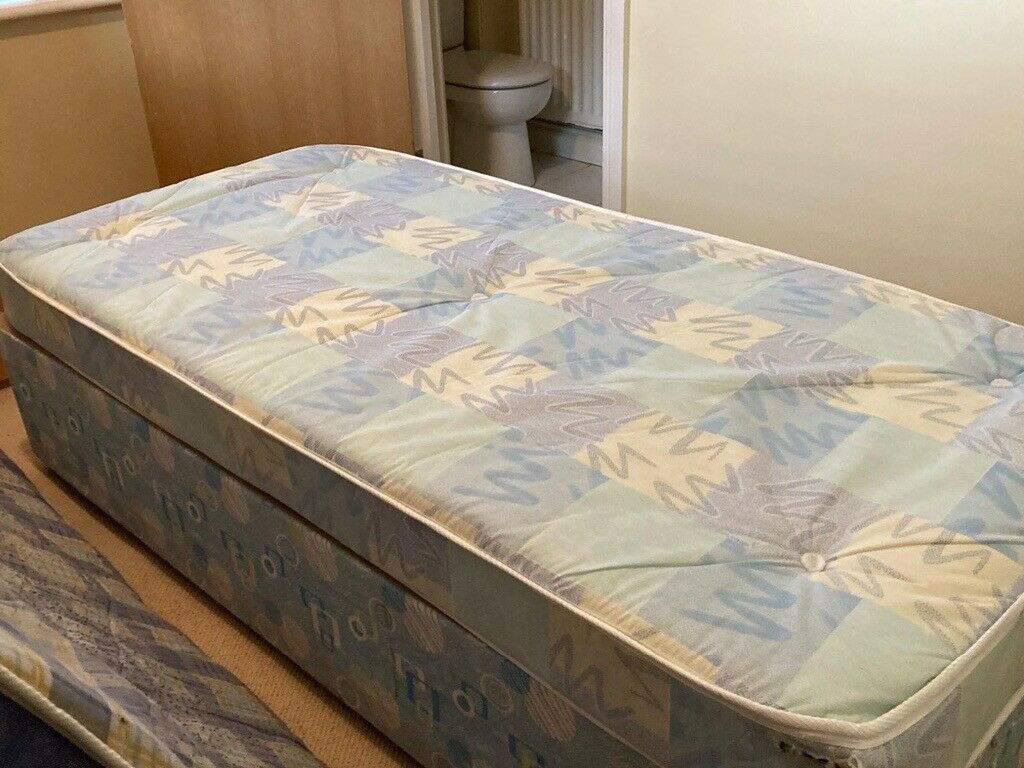 Picture of: 1 Single Divan Bed With Mattress In Lisburn County Antrim Gumtree