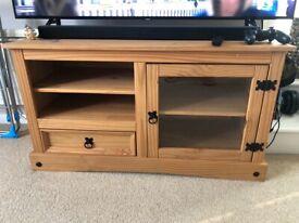 Freestanding wooden cabinet