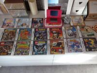 Nintendo DSi console and 16 games bundle