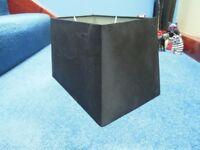 Black Silk Lamp Shade