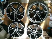 RS 250 Renault Megane 4x19 OEM alloy wheels