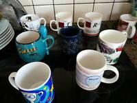 7 mugs