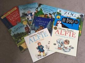 9 toddler/pre schooler books