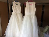 Bridesmaids dresses for ages 12 and 10 years old