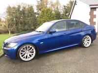 BMW 330D 2007 M SPORT ***12 MONTHS MOT*** ONLY 65000 MILES***