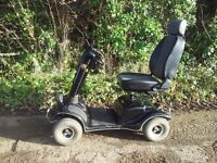 Mobility scooter full speed 8mph by Evolution. Captains chair including charger
