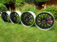 "Genuine Audi BBS RS866 (Speedline) 18"" 5x112 7.5J ET54 8P0601025AE Split Rims"