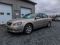 2005 Nissan Altima 2.5 SL! 88KM! LEATHER! ROOF!