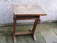 small antique art desks