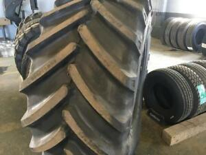 AGRICULTURAL TRACTOR TIRES (RADIAL) - ATLAS BRAND w. FULL WARRANTY - SHIPPING ANYWHERE IN CANADA FOR CHEAP -780-819-6189