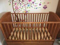 Mothercare Cot & Nursery bundle