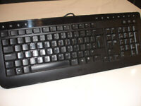 DELL ALIENWARE SK-8165 WIRED KEYBOARD AND WIRED OPTICAL MOUSE