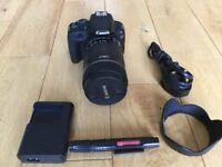 Canon 100D DSLR - 18-135mm telephoto lens